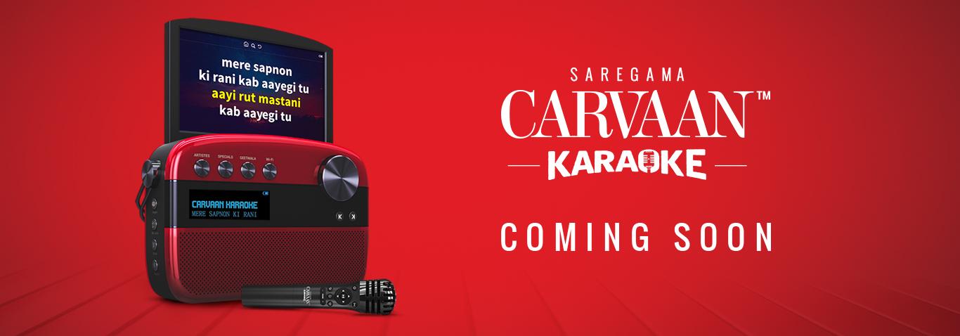 Saregama Carvaan launches an innovative Karaoke version