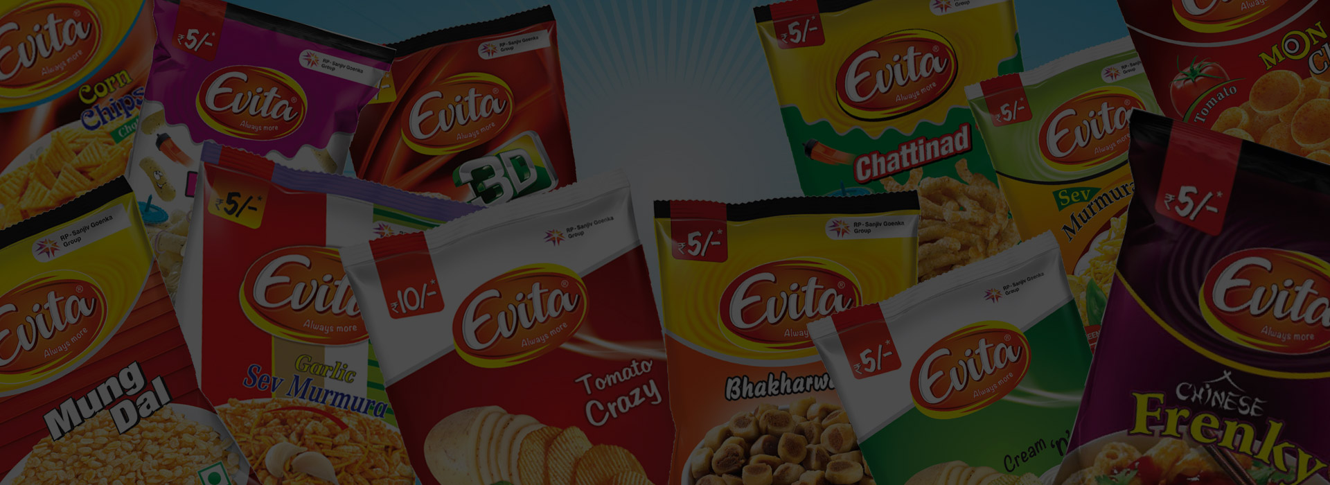 The FMCG business was consolidated with the acquisition of Apricot Foods, which sells packaged snacks under the brand name Evita.