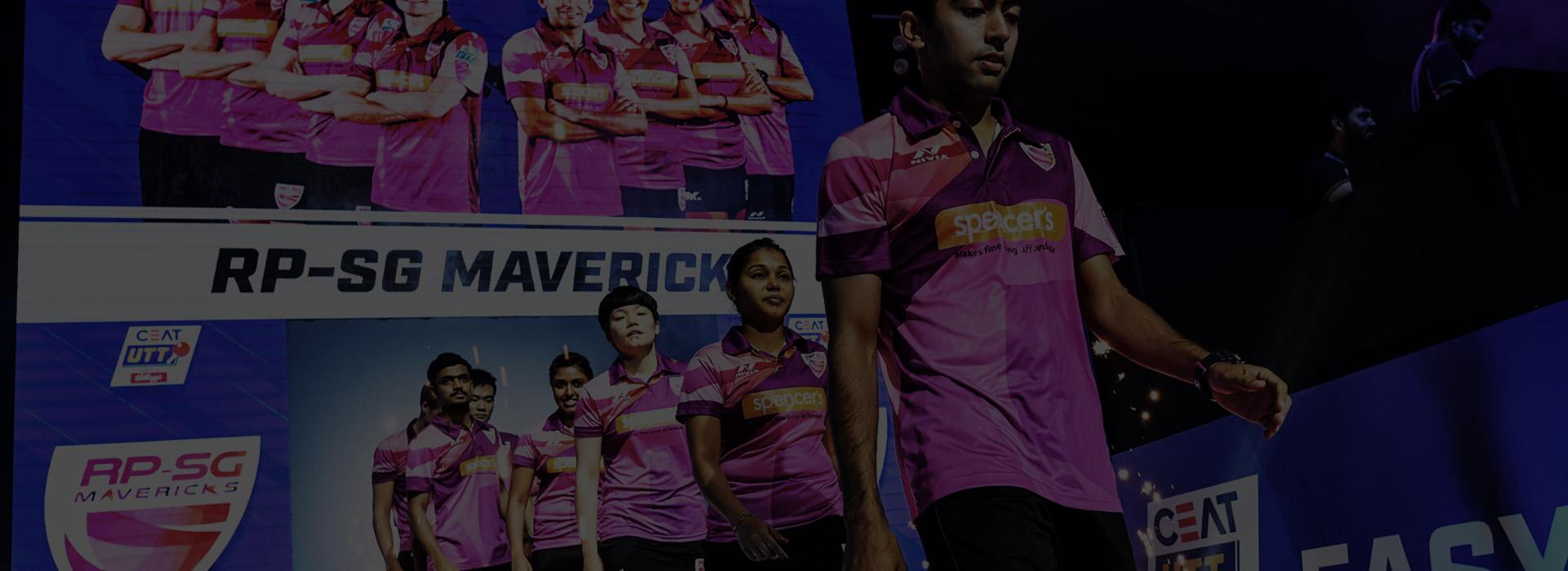 Formed RPSG Mavericks, a table tennis team representing Kolkata, one of the six in the country.